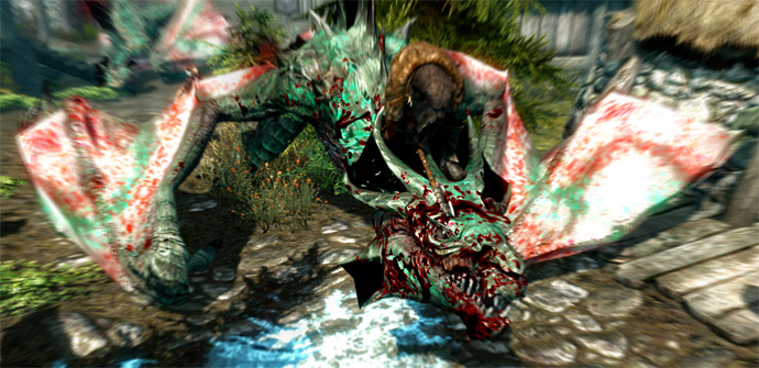 how to become a dragon in skyrim xbox 360