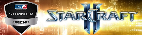 MLG StarCraft 2 Summer Arena 2012 Brackets Are Live!
