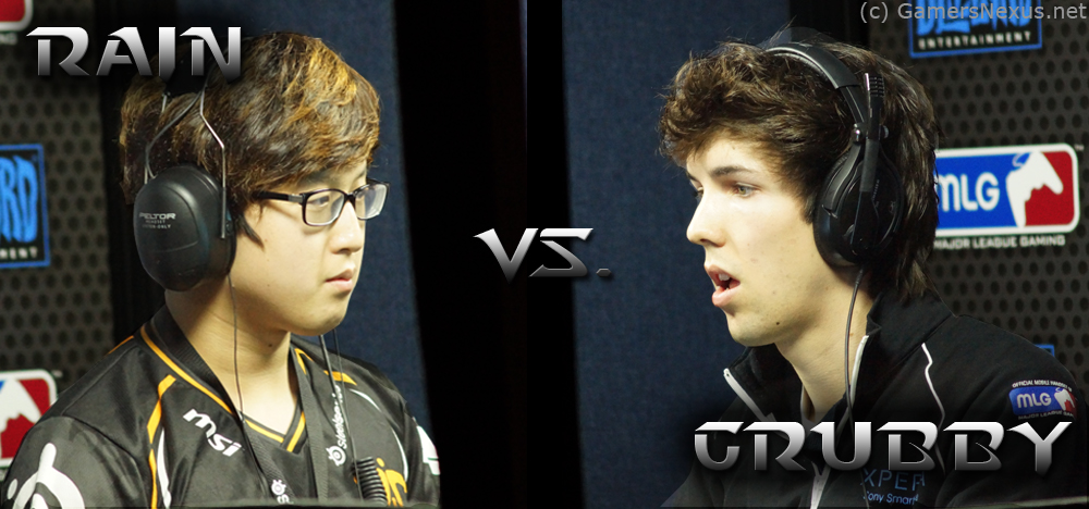 StarCraft 2 Battle Report: Grubby vs. Rain - MLG Raleigh 2012