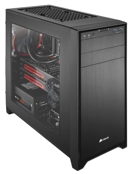 Corsair Obsidian 350D M-ATX Mini Gaming Case & Specs