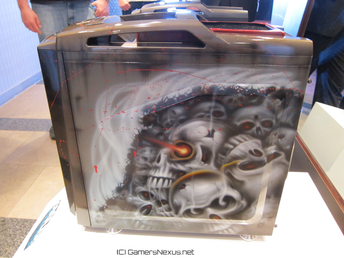 Cooler Master Case Mods by Lee Harrington [Video] – PAX East 2013