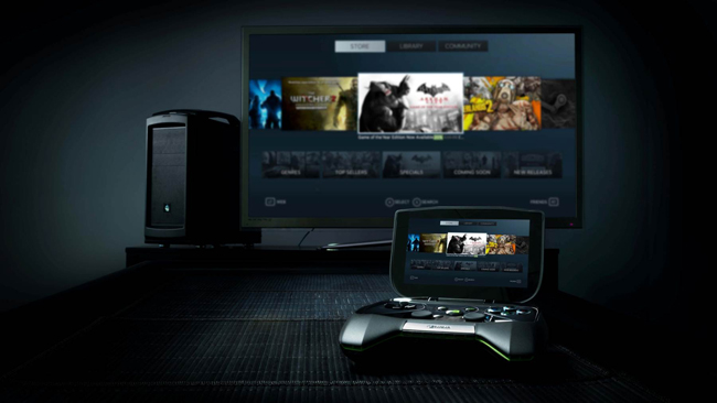 NVIDIA Announces Portable Gaming Console - Project SHIELD