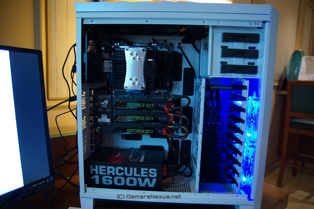 Hands-On: Rosewill Throne, Line M, Helios Preview CES 2013
