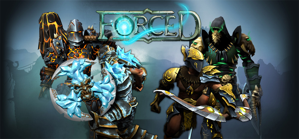 FORCED Game Review & Gameplay - Co-Op Arena Combat