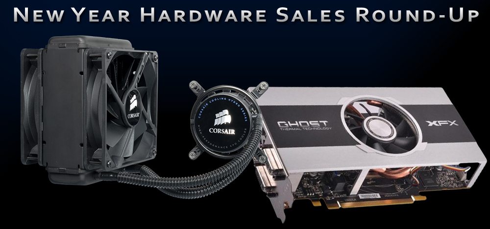 New Year's Day Gaming PC Hardware Sales Recap - 2013