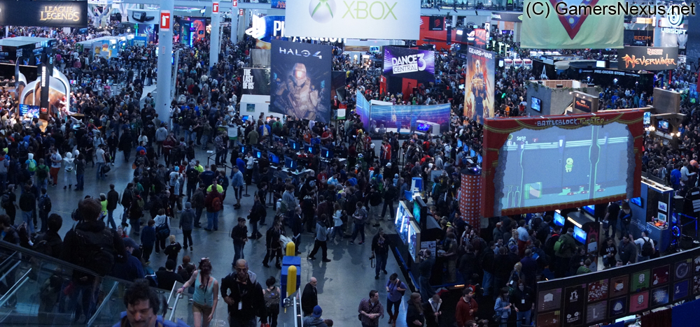 What is PAX Really Like? POV Montage / Write-up of the Show Floor