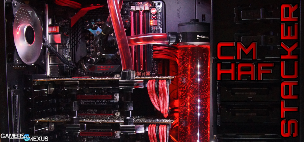 PAX: Cooler Master's HAF Stacker Modular Case Hands-On