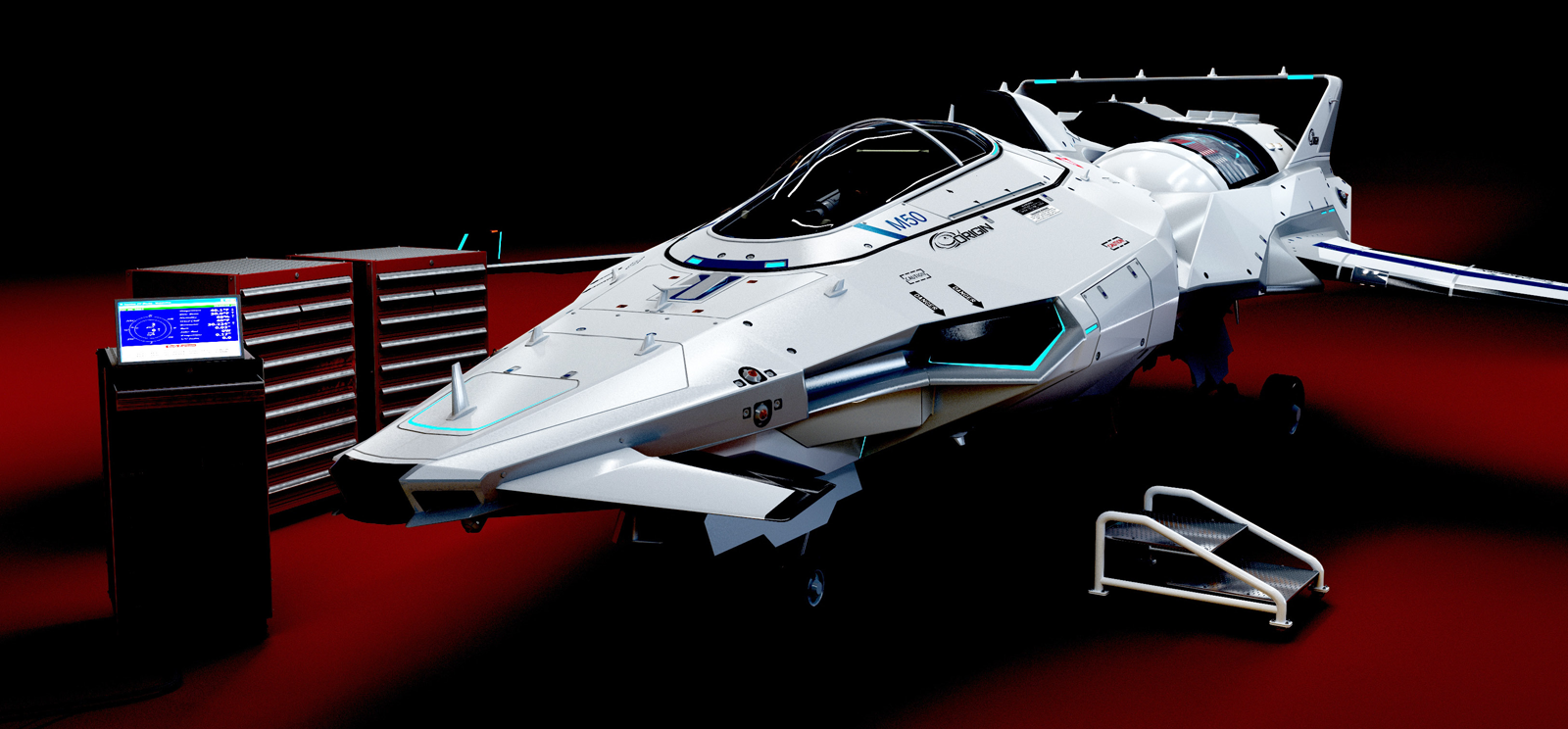 1485 Star Citizen M50 Model Preview on Latest Write Up Form 2