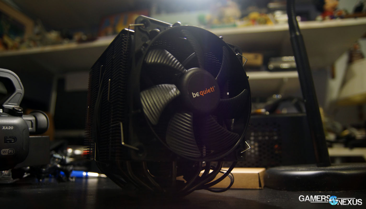 Be Quiet Dark Rock Pro 3 Benchmark Amp Review Cpu Coolers