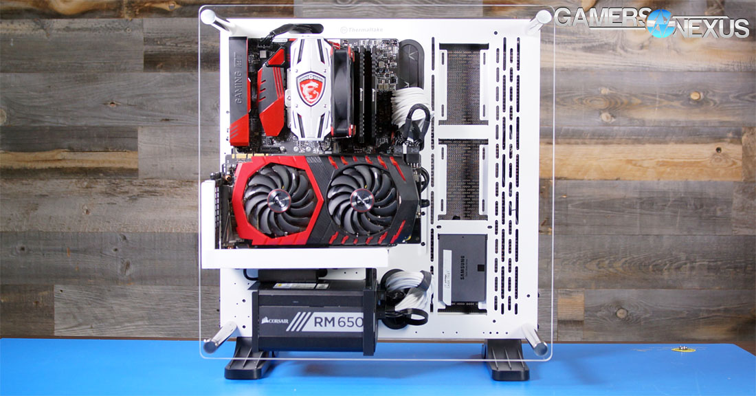 Thermaltake Core P3 Review Quality Test Bench Alternative