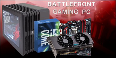 GTX 970 & Intel i5 Gaming PC Build for Star Wars Battlefront at $1000