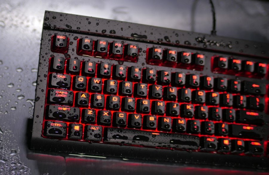 Corsair K68 Dust & Spill Resistant Keyboard | Computex