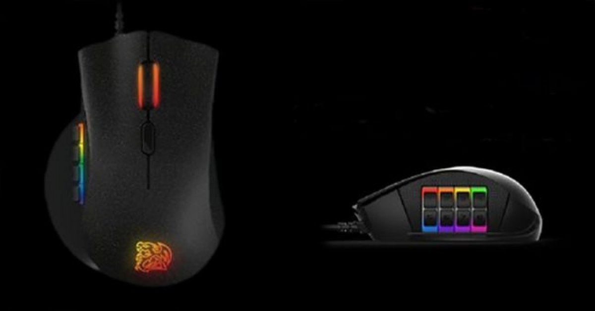 Thermaltake Nemesis Switch MOBA/MMO Mouse Announced
