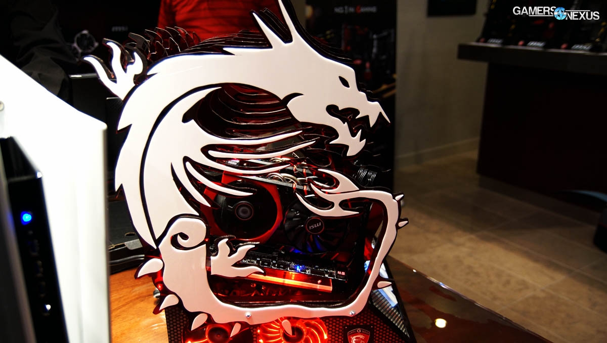 The Best Gaming PC Cases of CES - 2015 Case Round-Up