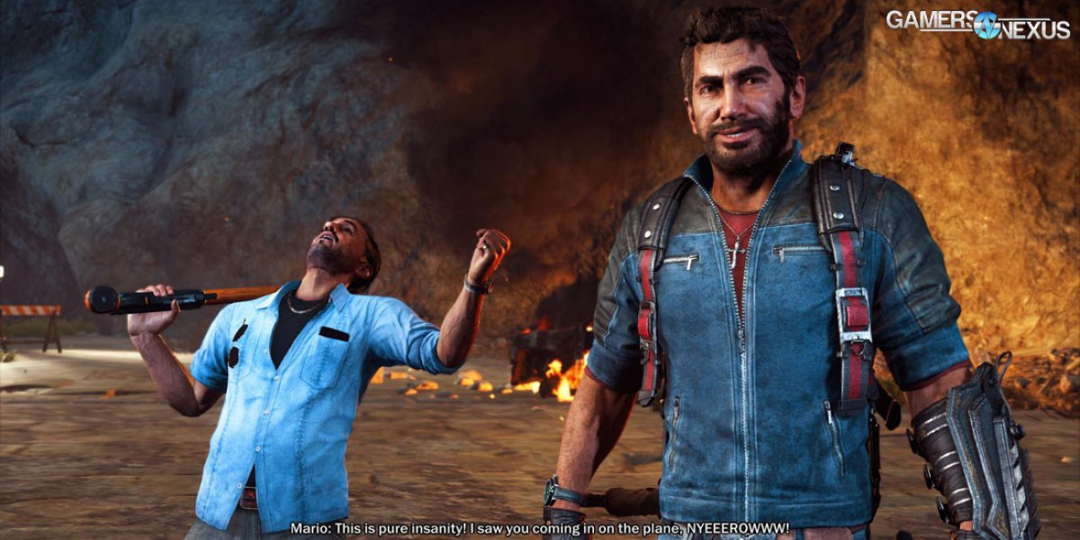 Just Cause 3 Video Card Benchmark - Anomalous Performance, but Overall Reasonable
