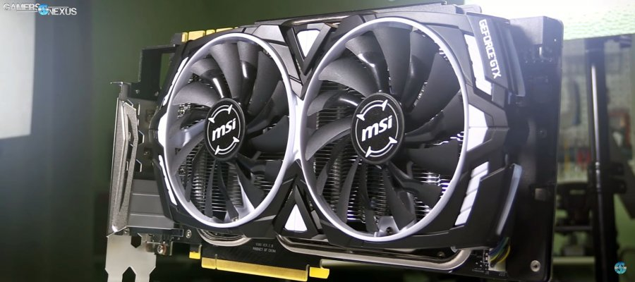 MSI GTX 1080 Ti Armor Review: Basically a Bare PCB for H2O