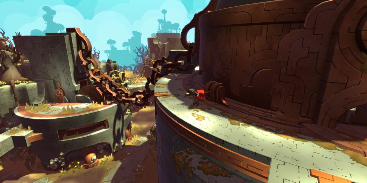 Hob Gameplay Preview: Runic's Sundered World   PAX