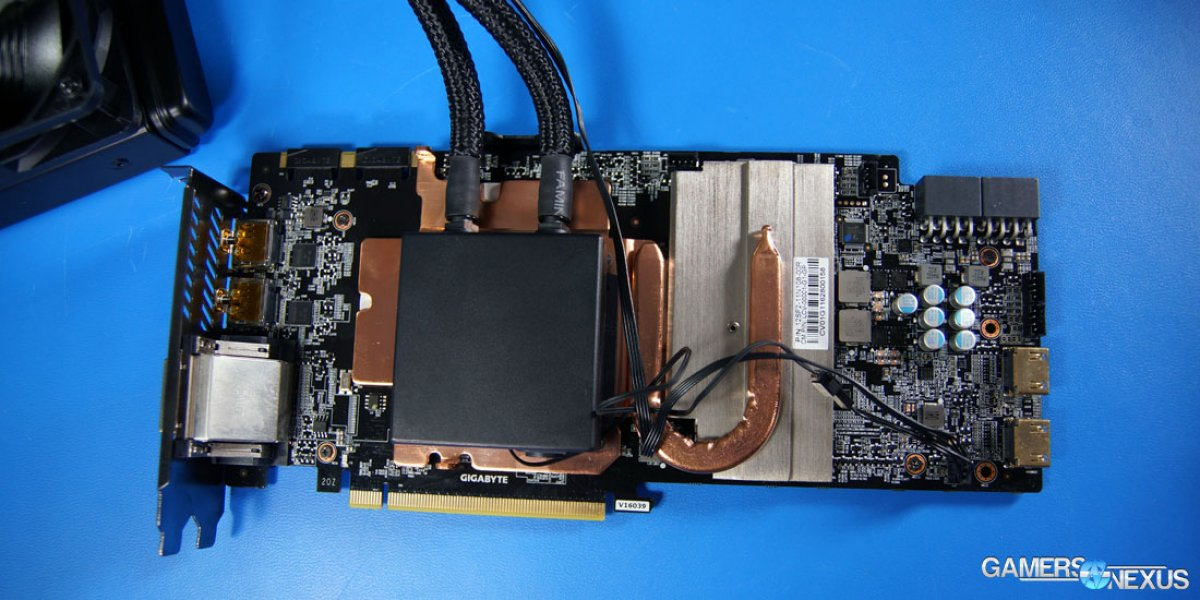 Gigabyte GTX 1080 Xtreme Water Force Tear-Down
