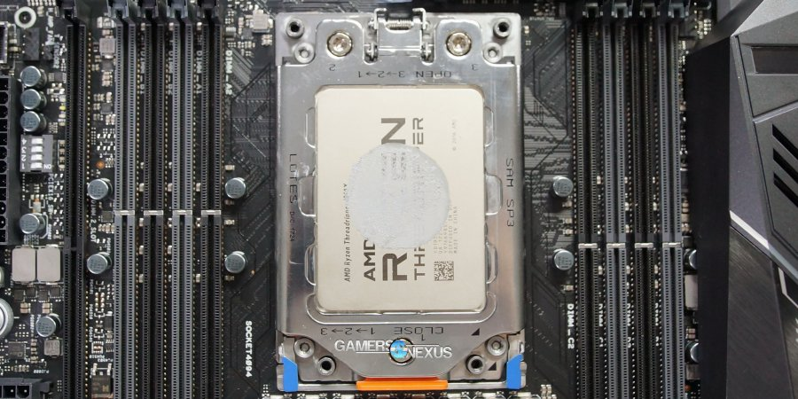 Threadripper Cooler, Thermal Paste Coverage vs. Die Area & IHS