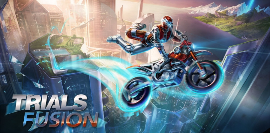 Minecraft Remade in Trials Fusion Map