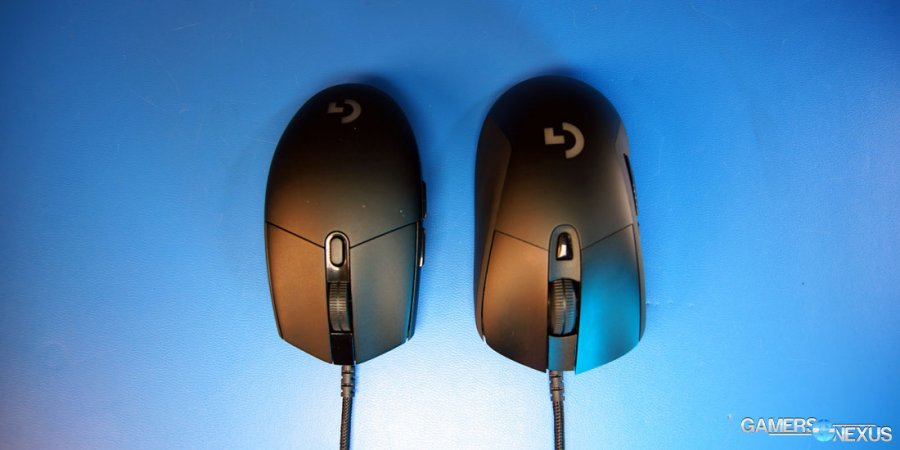 Logitech G403 & G Pro Review - A Pair of $70 Gaming Mice