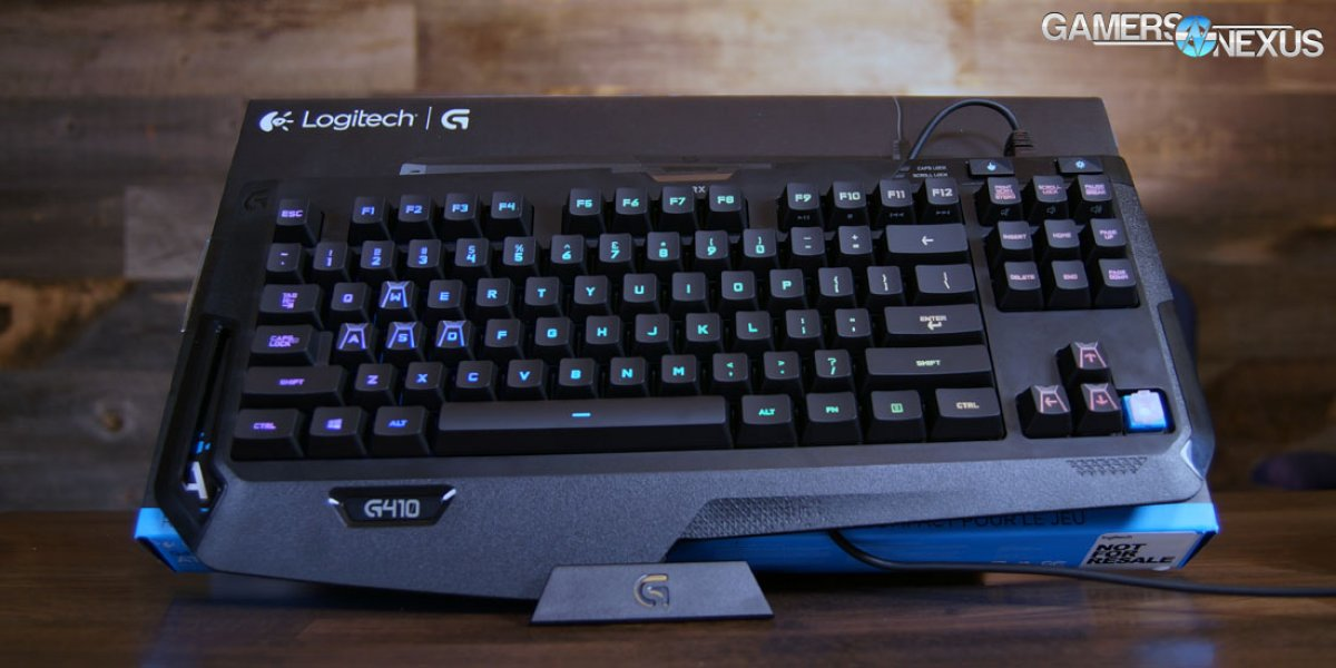 Logitech G410 Atlas Spectrum TKL Keyboard Review