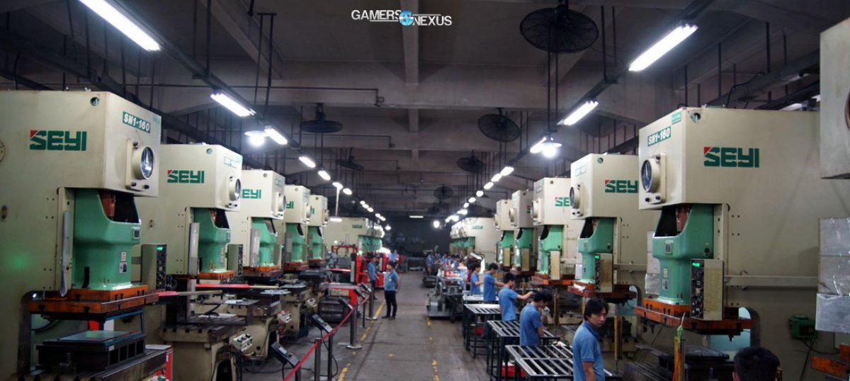 NZXT Factory Tour in China – Start-to-Finish Case Manufacturing