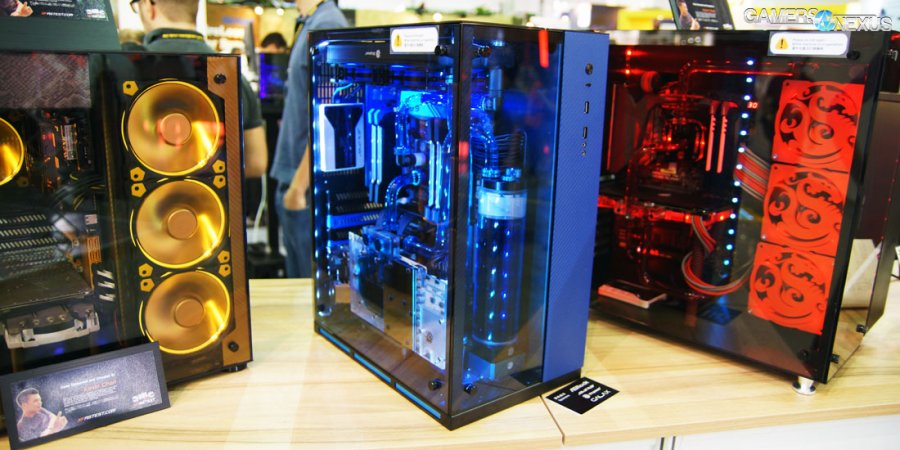 Lian-Li PC-O10 Compartmentalized Tempered Glass Case Now Shipping