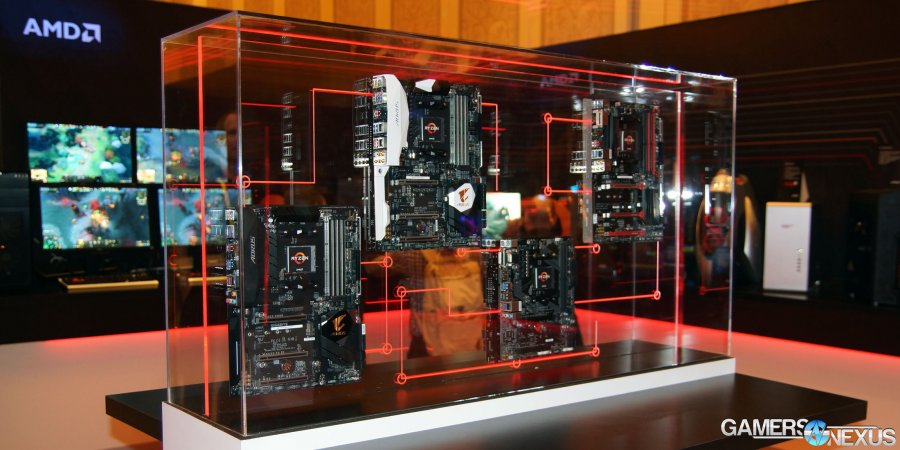 Gigabyte AM4 Ryzen Motherboards Using X370, B350, A320 Chipsets | CES 2017