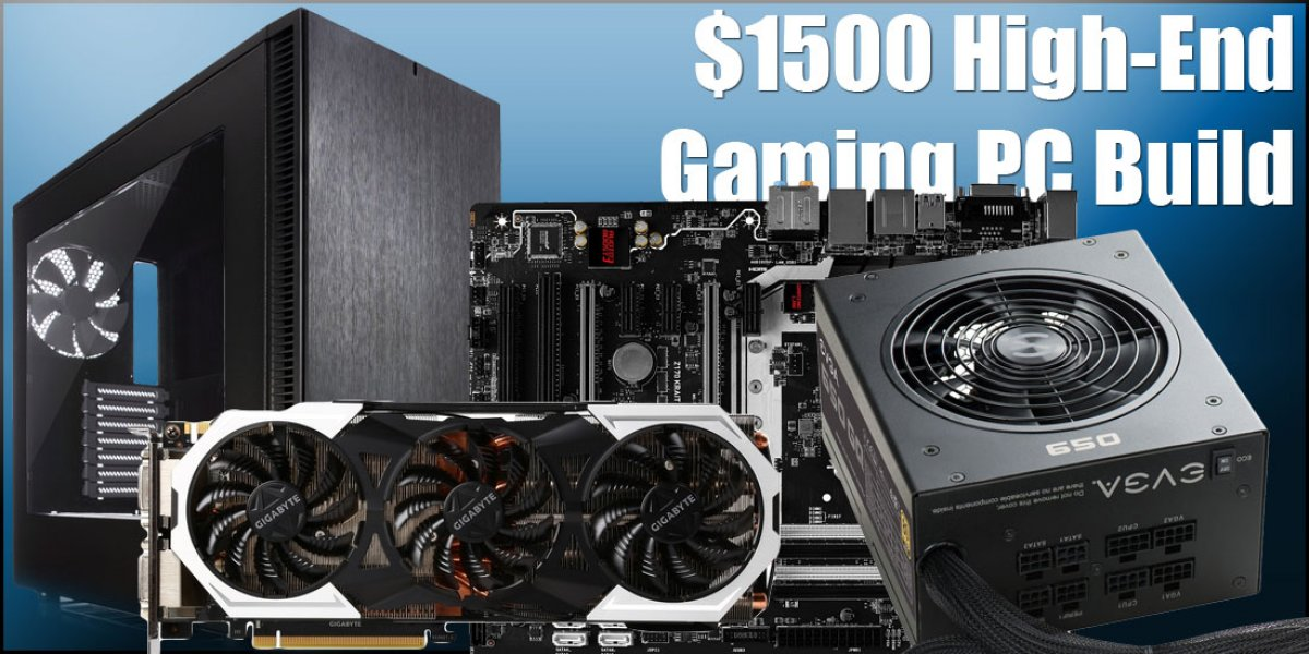 High-End Gaming PC Build for $1500 - 1440p & Light 4K Gaming