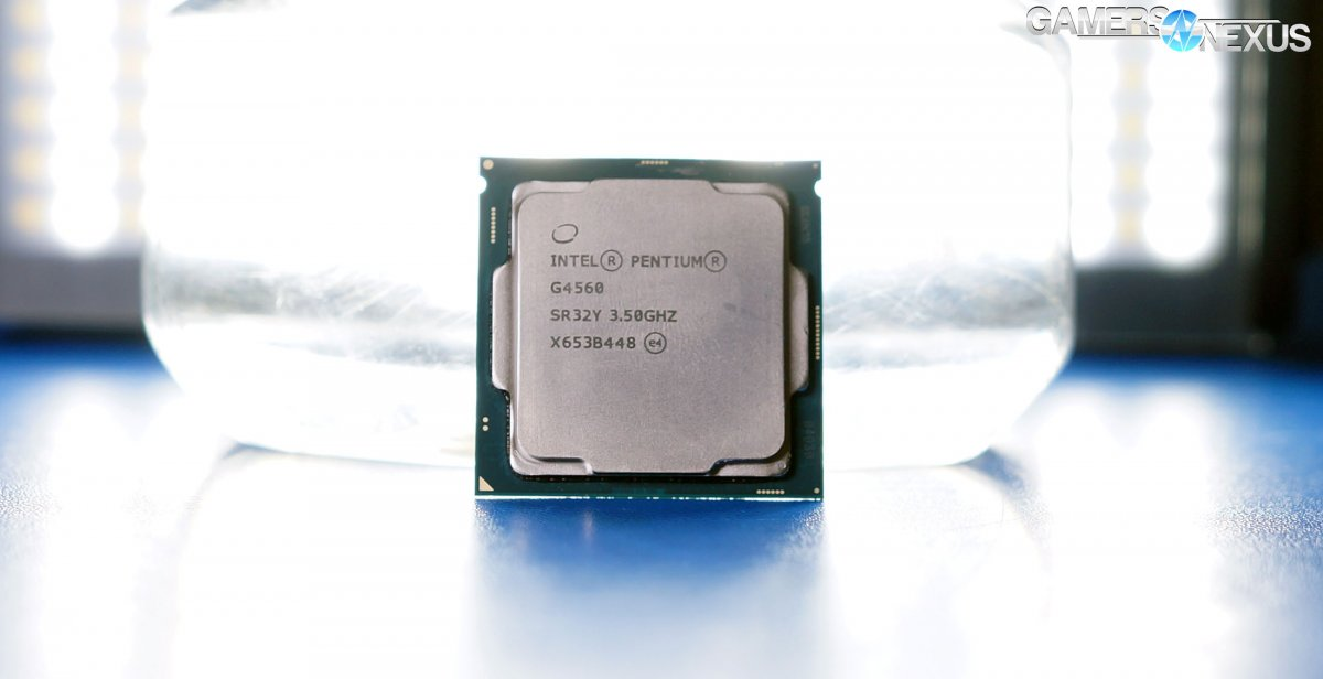 Intel Pentium G4560 Review: Cannibalizing the i3