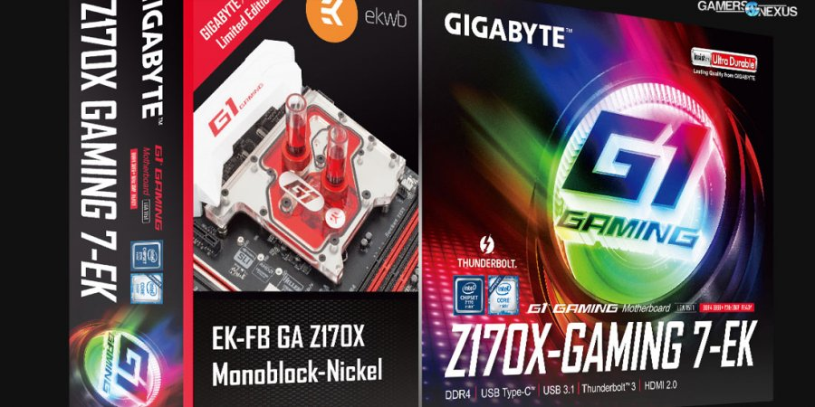Gigabyte & EKWB Release X99-Ultra Gaming-EK for MOSFET Liquid Cooling