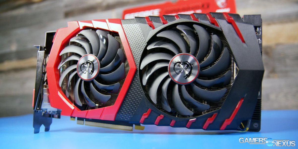 MSI GTX 1080 Gaming X Review, Overclocking, & Thermal Benchmarks