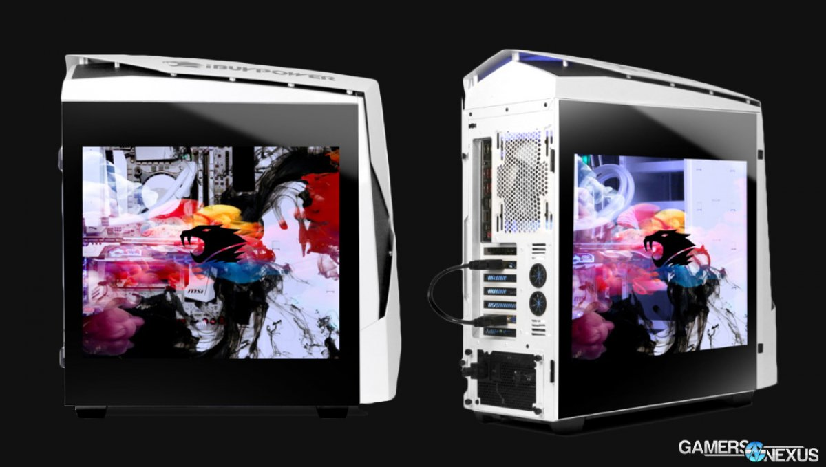iBUYPOWER Snowblind N450 Specs & Official Launch