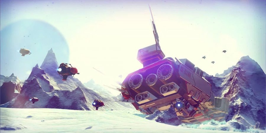 No Man's Sky to Add Base Building, Major Launch Updates