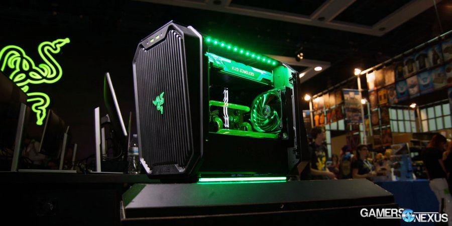Antec's Return: Cube mITX Case Designed by Razer Hands-On