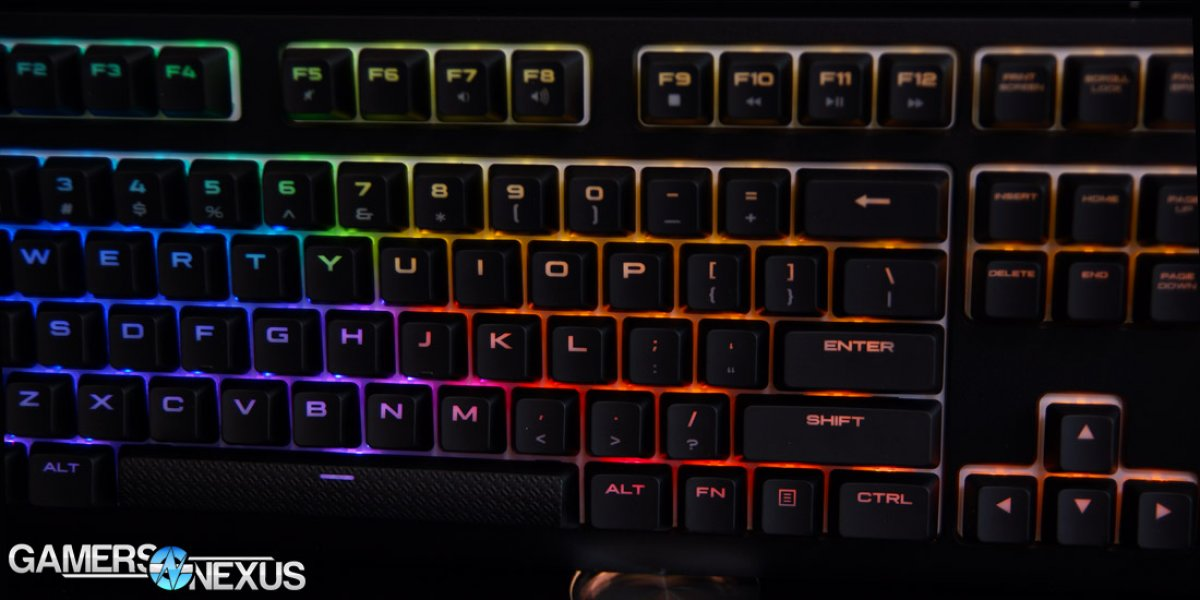 Corsair Strafe RGB MX Silent Review - Our New Go-To Mechanical Keyboard
