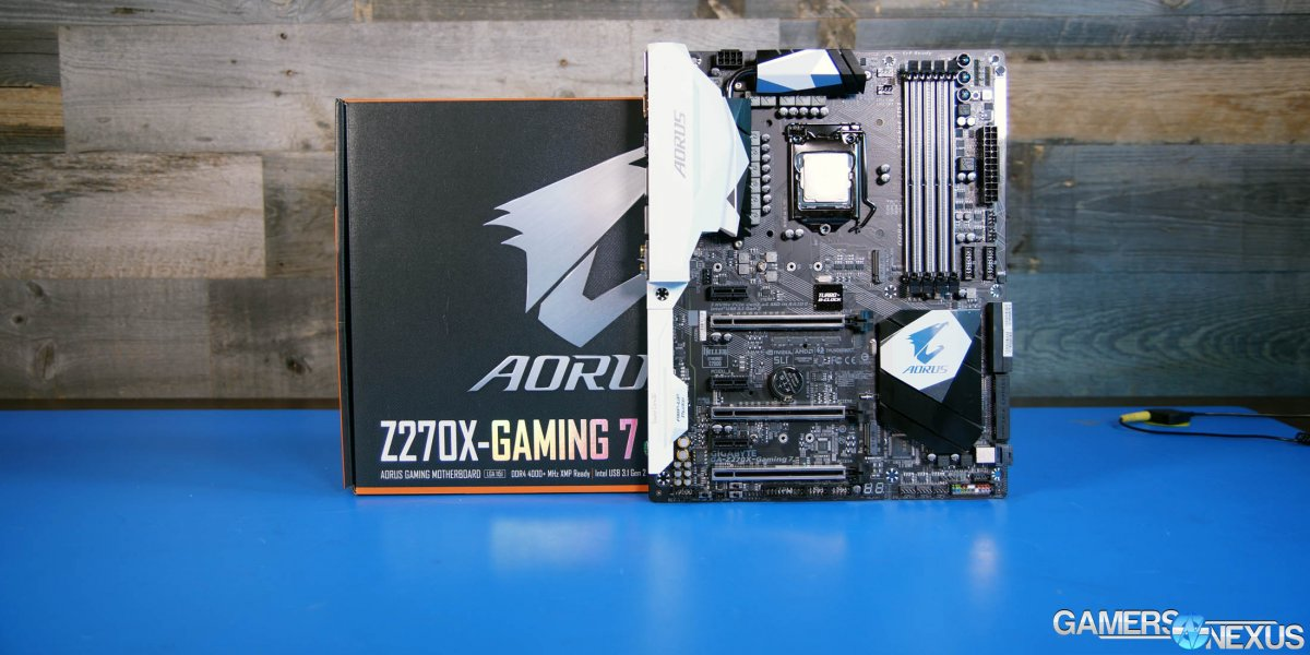 Gigabyte Z270X Aorus Gaming 7 Review – The Impact of Motherboards on Temperatures