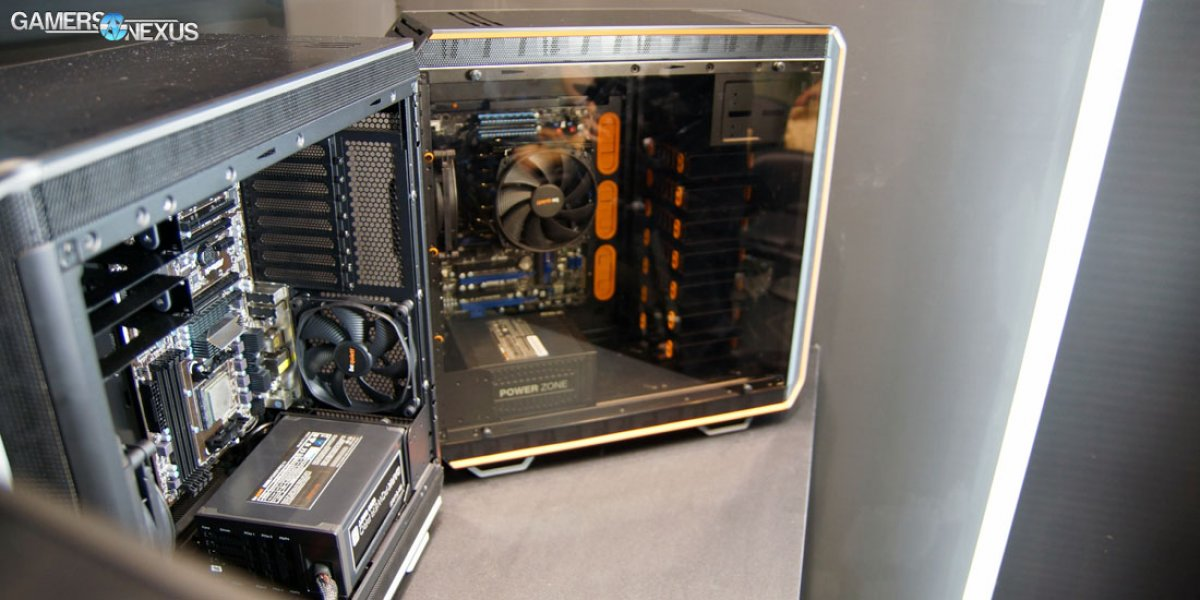 Be Quiet! Dark Base 900 Invert-able Case at Computex