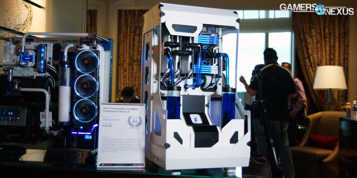 Artful Case Mods at Thermaltake's CES Suite (And New W Series Cases)