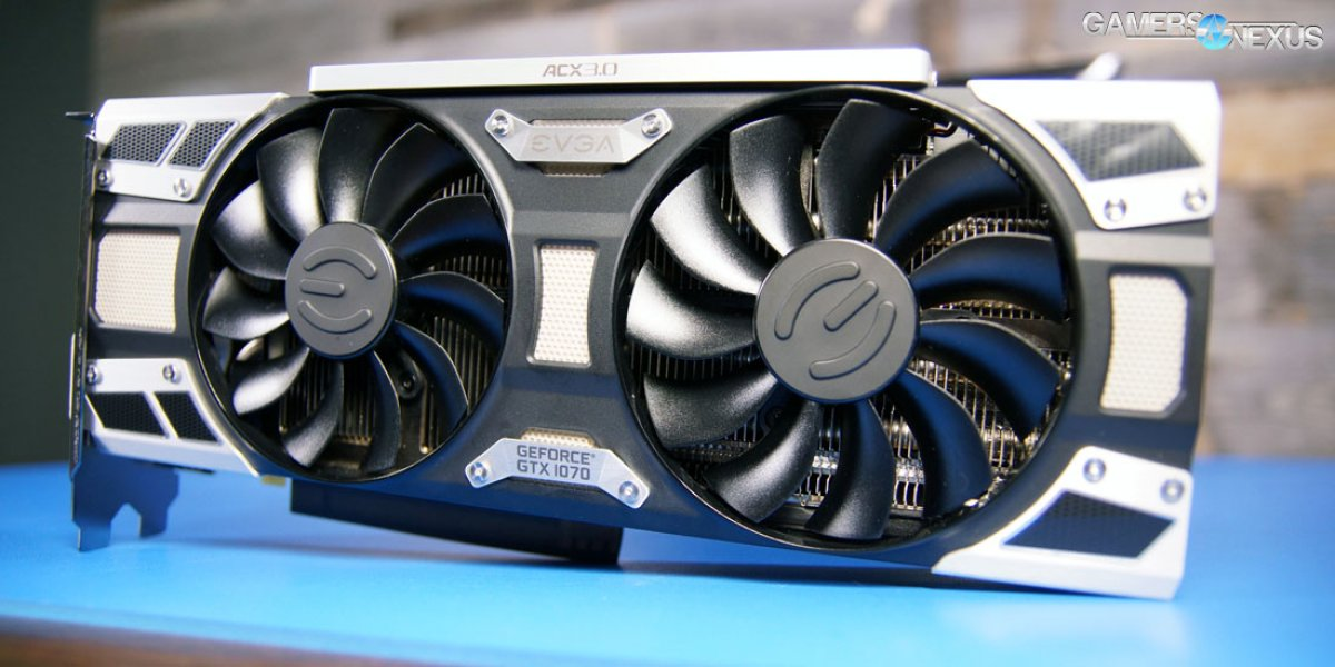 EVGA GTX 1070 SC Review & Overclocking Benchmarks